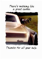 a great caddie